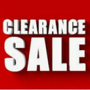 Clearance Sale!! Very Cheap for New with Tags